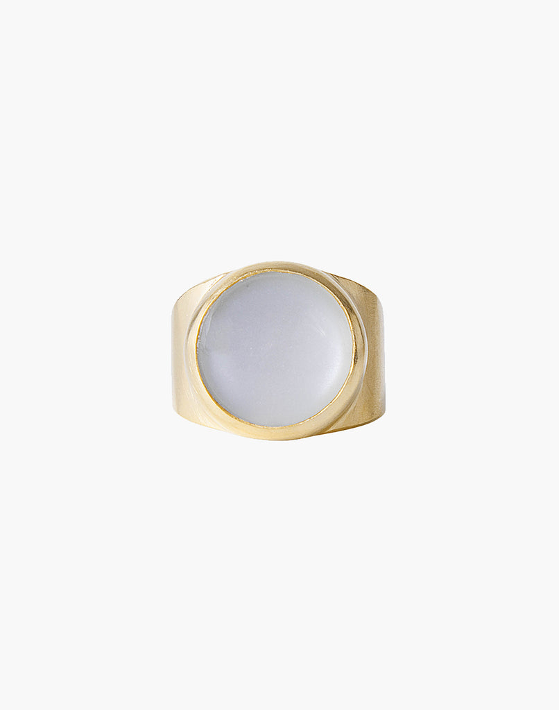 Moonstone Dome Ring