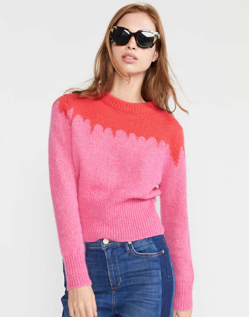Snowbird Intarsia Knit Sweater