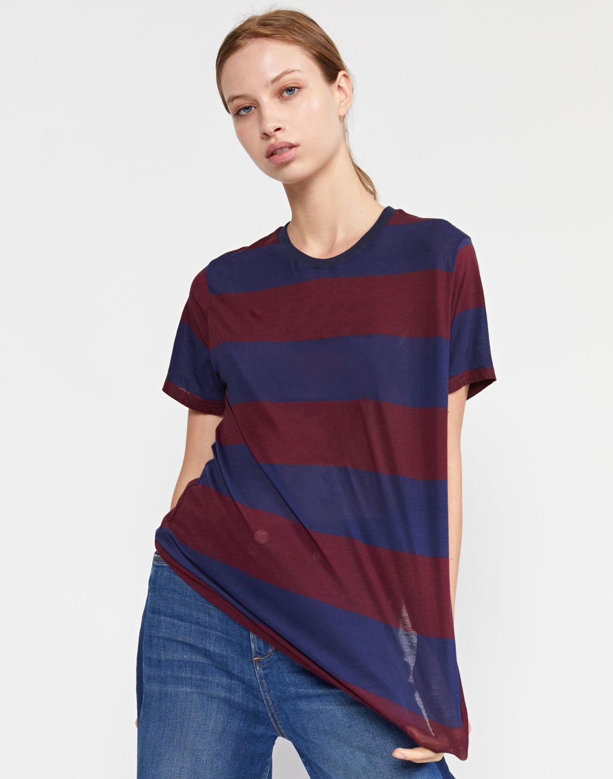 Printed Stripes Tee