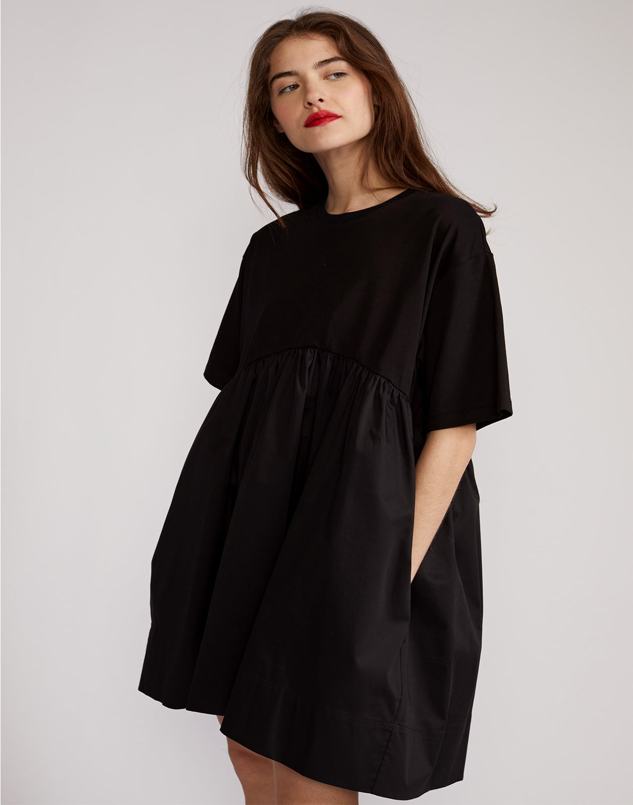 Bree Combo T-Shirt Dress