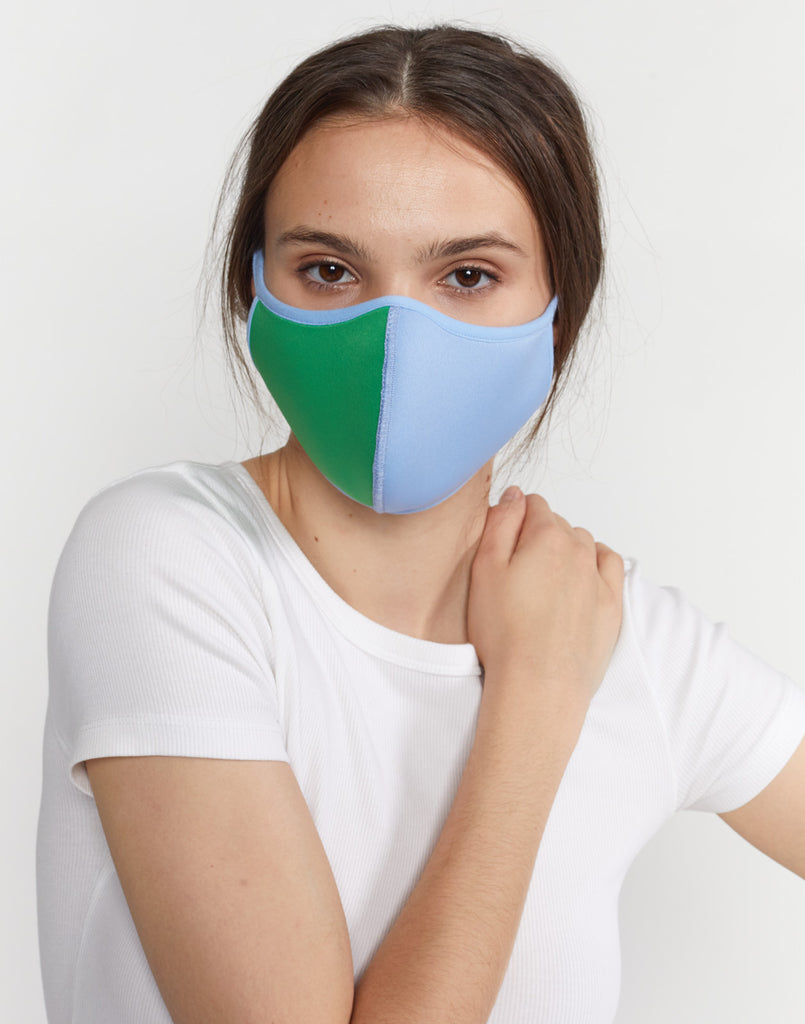 Colorblock Mask