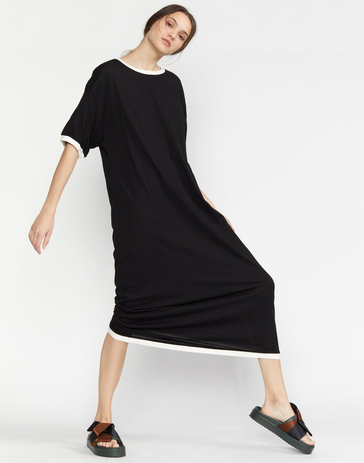Rhyse Maxi T-Shirt Dress