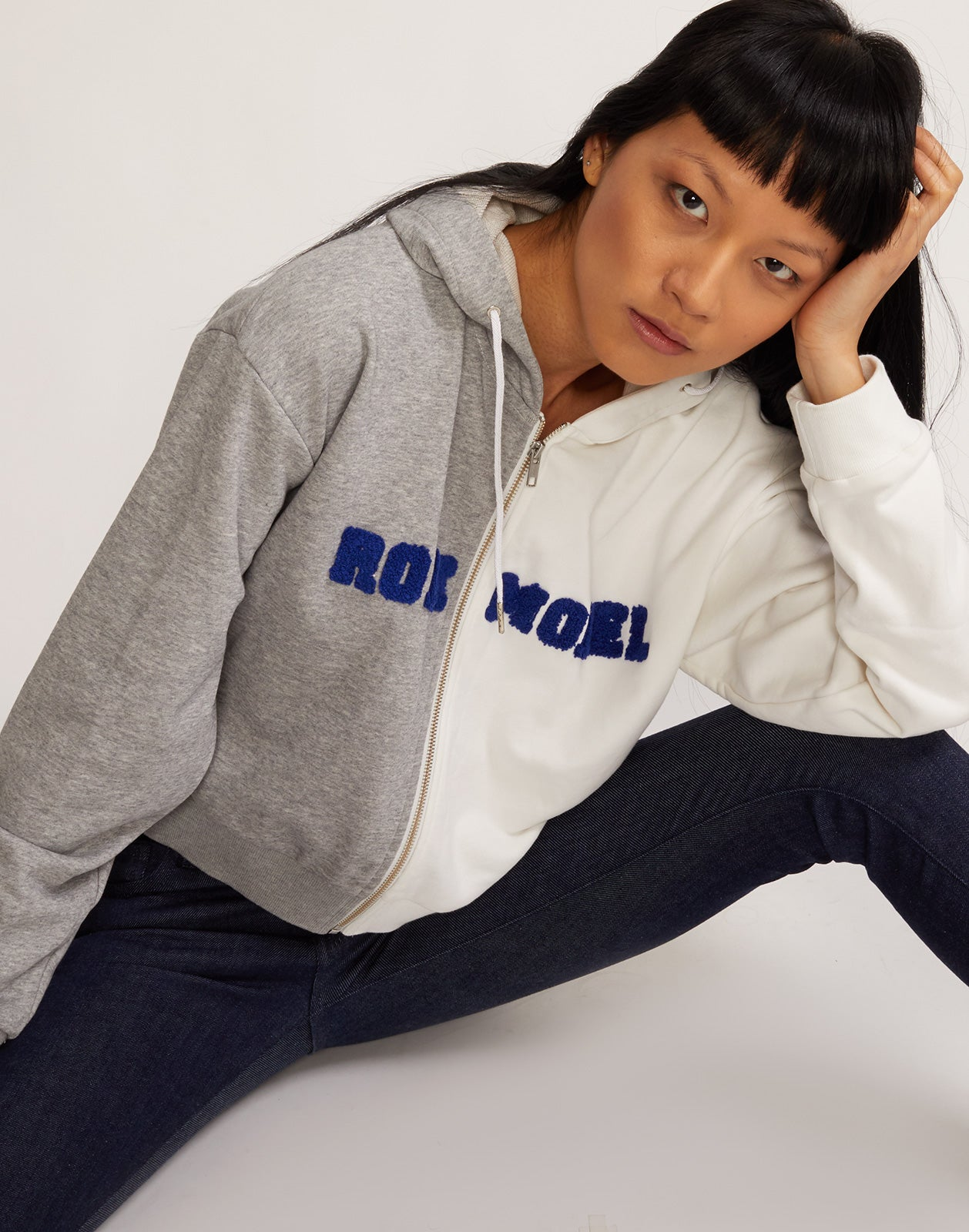 Role Model Embroidered Hoodie Sweatshirt alt view