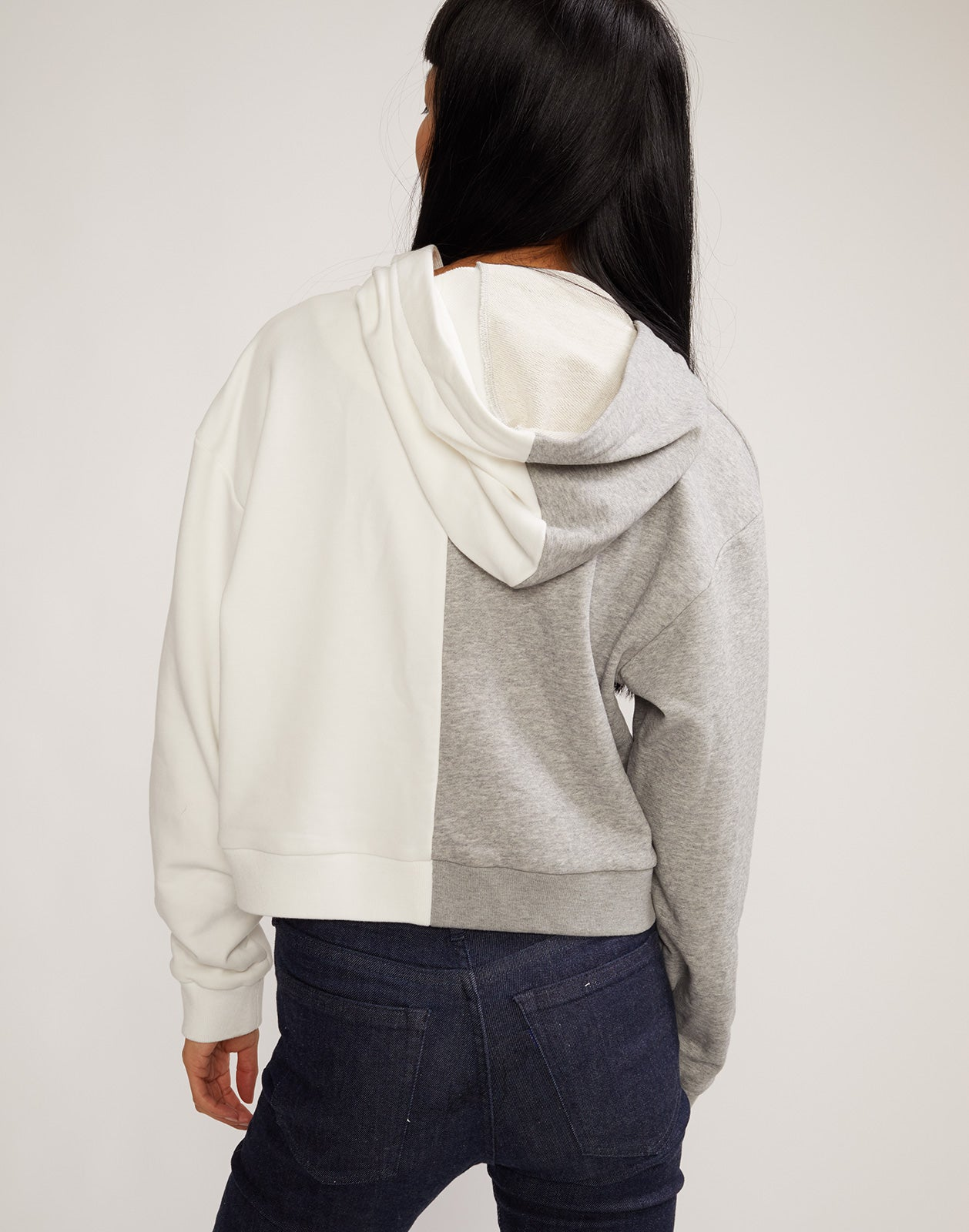 Back view of the Role Model Embroidered Hoodie Sweatshirt