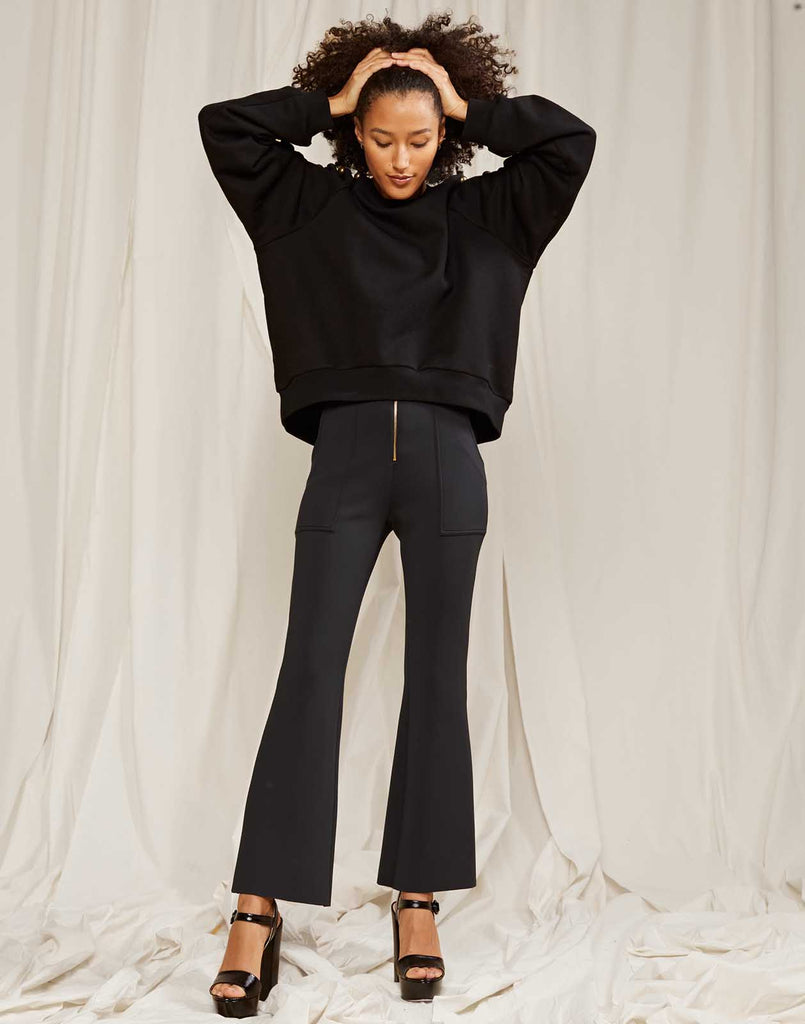 The Black Bonded Pants