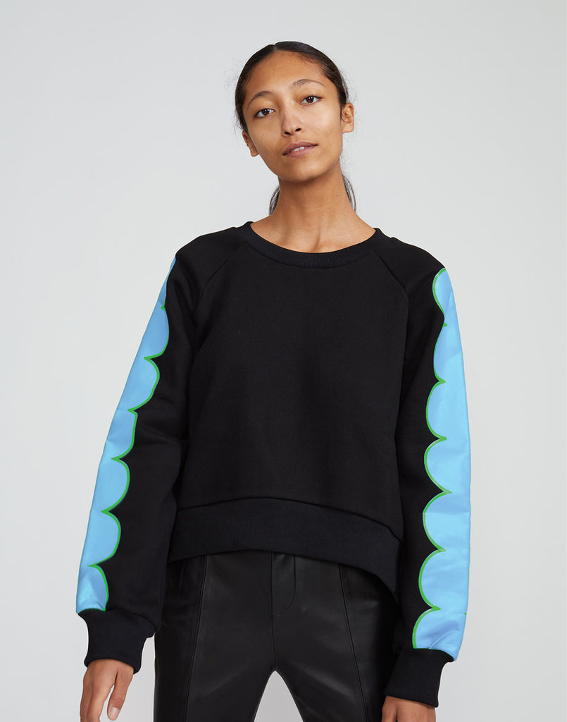 Sunday Scallop Sweatshirt
