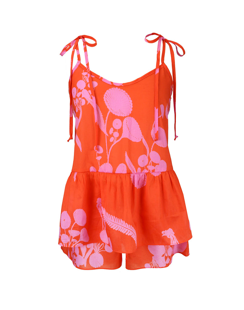 Orange Crush Cami & Short Sleep Set