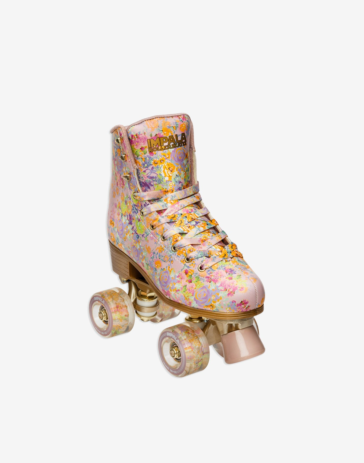 Alternate side view Cynthia Rowley x Impala Floral Rollerskate