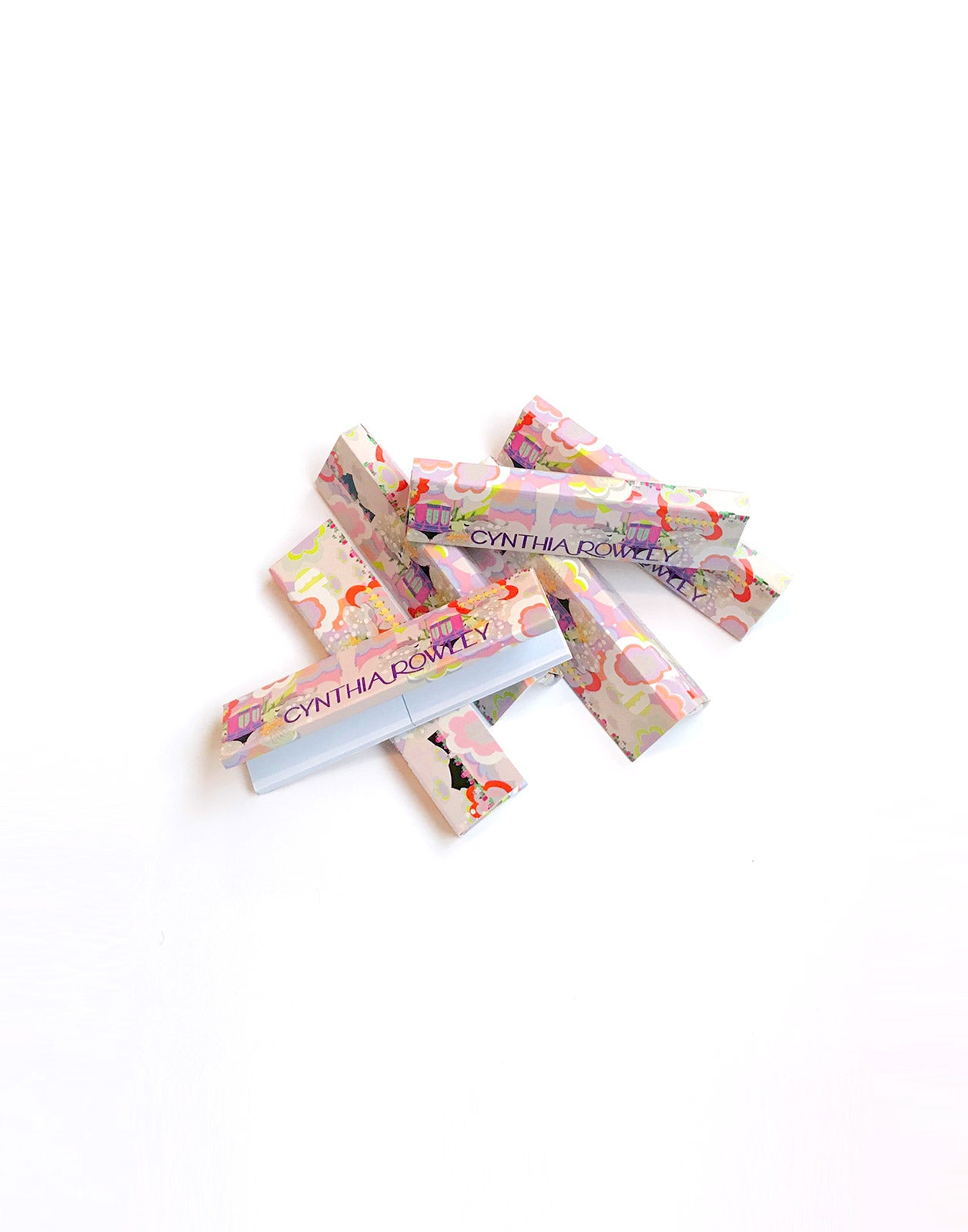 Sublime Floral Rolling Papers Stack