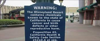 Even Disneyland Can't Escape Prop 65