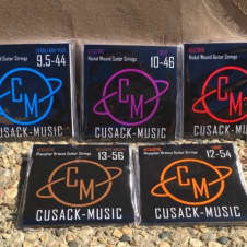 Cusack Music Strings - Various Gauges