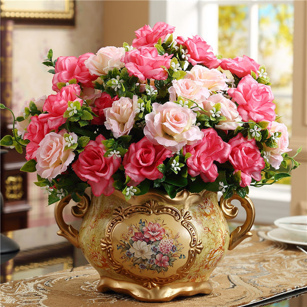 Image result for vase of beautiful roses