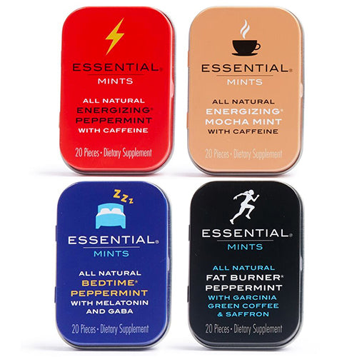 Essential Mints Combo Pack - 4 Tins