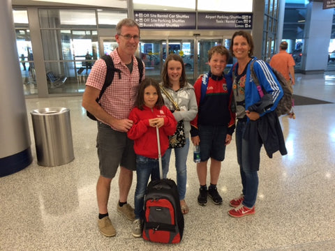 Rebecca and Family Arrive in the USA