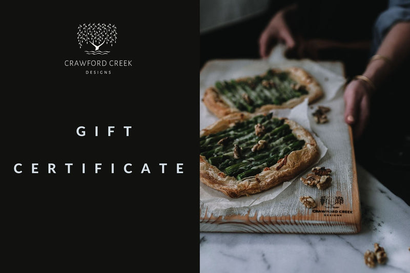 Crawford Creek Designs Gift Card