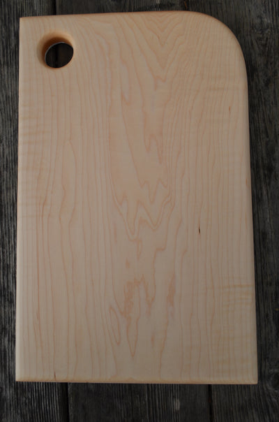 White Cutting Board handcrafted from Maple wood