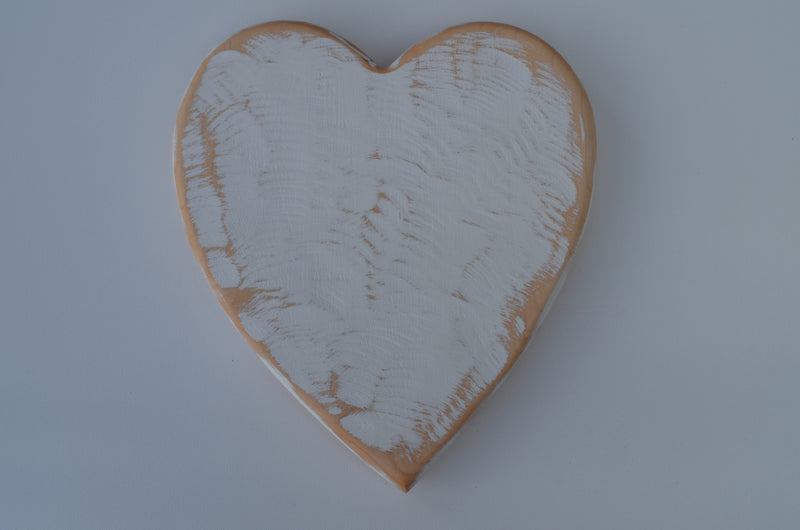 Heart Cutting Board handcrafted from Eastern Hard Maple