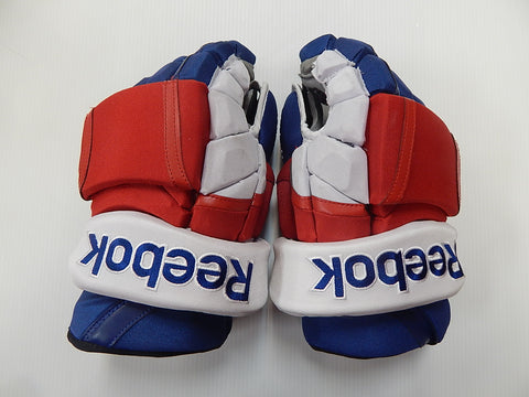 "14"" Reebok 11K Pro Gloves – NEW YORK RANGERS"