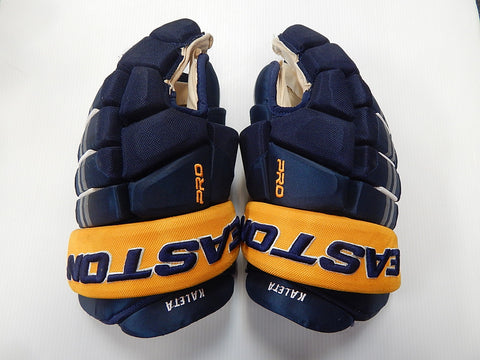 "15"" Easton Pro Gloves – BUFFALO SABRES"