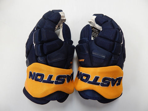 "15"" Easton Synergy Gloves – BUFFALO SABRES (DONOVAN)"