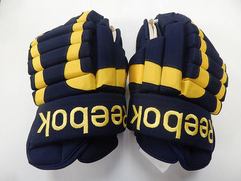 "15"" Reebok Pro Gloves – UNIVERSITY OF MICHIGAN"