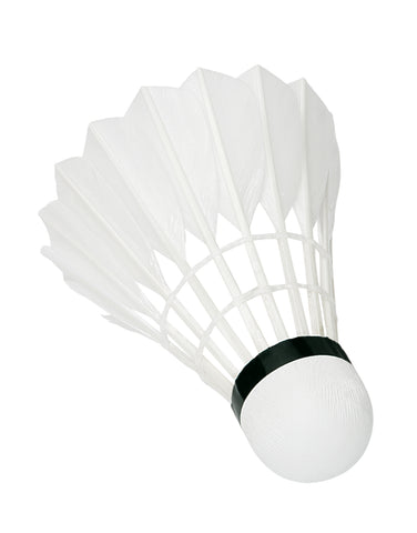 Sunflex badminton 3 white feather shuttlecocks