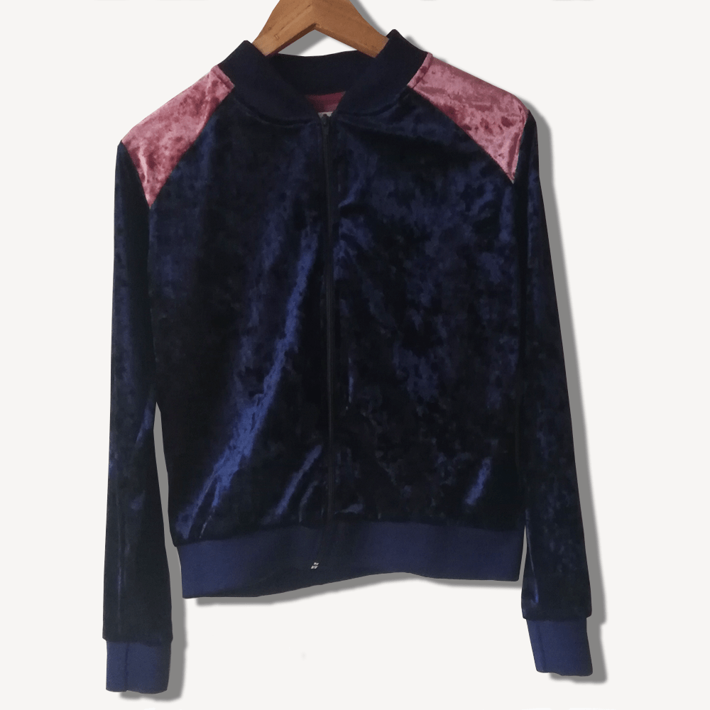 BOMBER JACKET AZUL by Metamorphosis