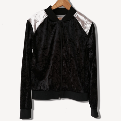 BOMBER JACKET NEGRO by Metamorphosis - HAF Perú