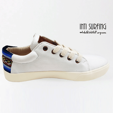 BLANCO ZAPATILLAS CANVAS by Inti Surfing - HAF Perú