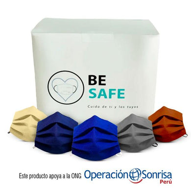 PACK MASCARILLAS SOLIDARIAS PREMIUM NOTEX 214 g by Be Safe - HAF Perú