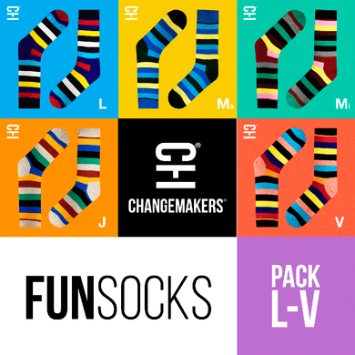PACK x 5 FUNsocks by ChangeMarkers