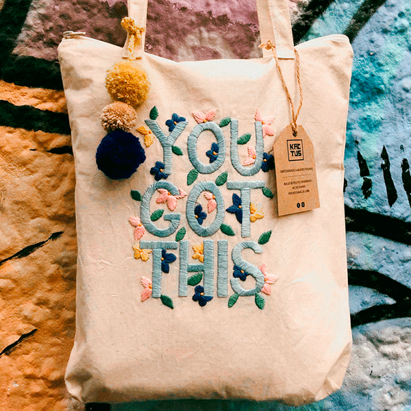 BOLSO DE TOCUYO YOU GOT THIS by Kactus