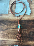 Antler Accent Necklace