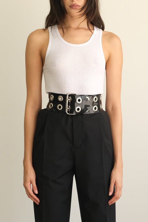 Oversized Grommet Belt