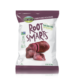Purple Sweet Potato Root Vegetable Chips