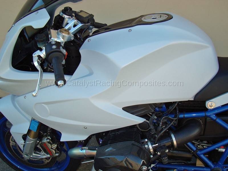 BMW HP2 <BR>08-12' <BR>TANK COVER