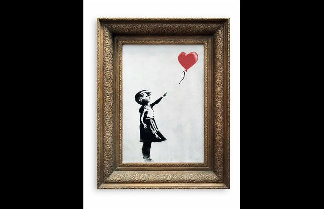 The legendary prank by Bansky