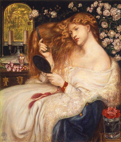 Lillith Rosetti Combing Hair