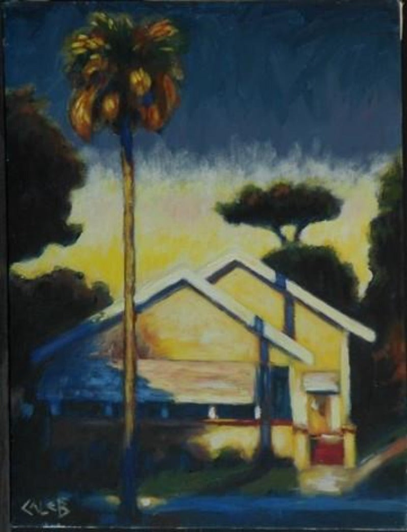 Caleb, Lone Palm, House, Tropical, Florida, Clearwater, Art Gallery, Seven North Art
