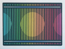 "*Adan ""Spectra I"" & ""Spectra II"" Suite of Two 17.5×24 Original Silkscreens"
