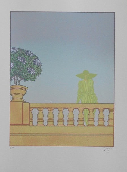 Anonymous-Portuguese-artist-Woman-in-Green-20x16-Pp-Original-Limited-Edition-Silkscreen-on-Rag-list-140-our-85-e1445707996103.jpg