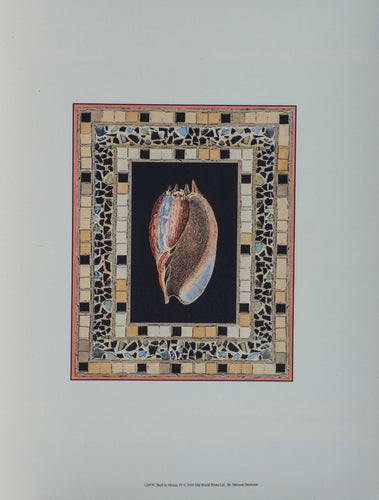 *Bookman, Deborah ''Shell In Mosaic I'' P.18x14