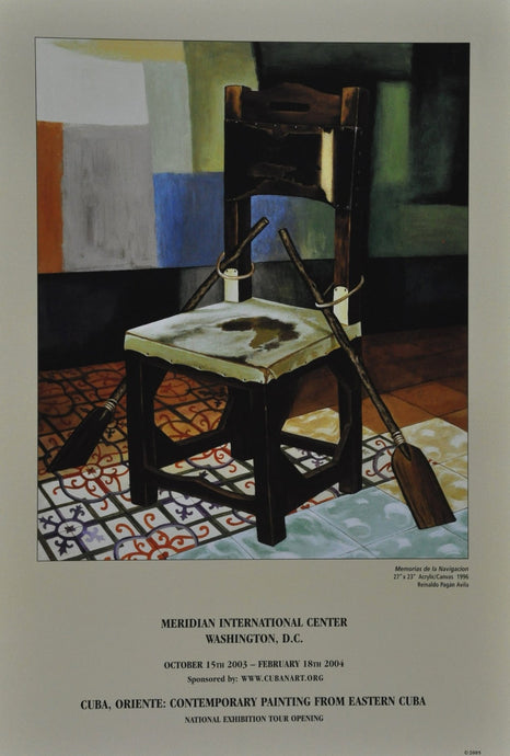Eastern Cuba Paintings From -Meridian International Center Washington D.C.National Exhibition