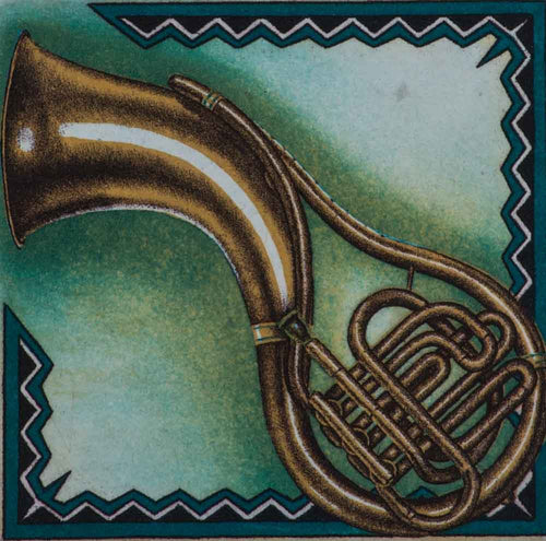 Tuba dan etching music