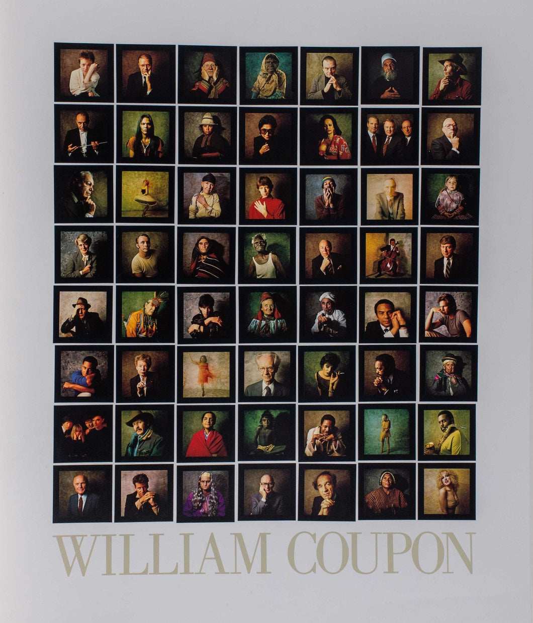 Coupon, William ''Portraits of the Greats'' 25.5x20