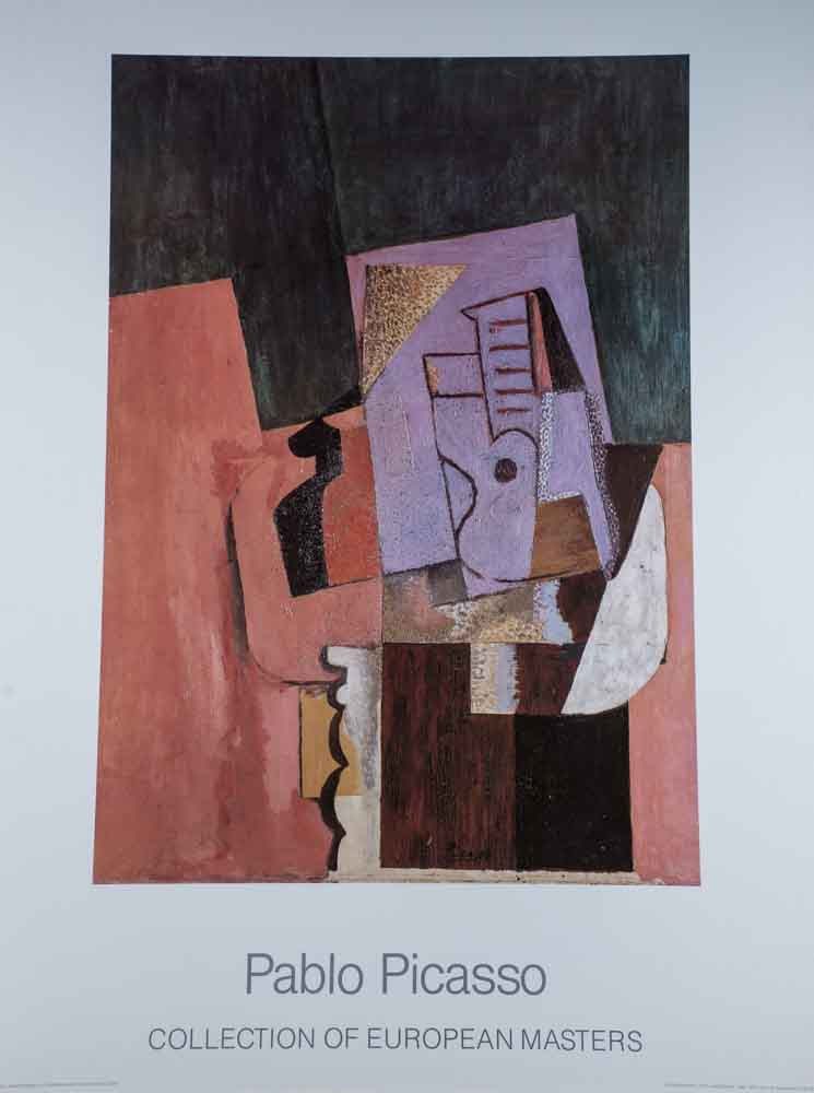 Pablo Picasso Collection of European Masters Abstract