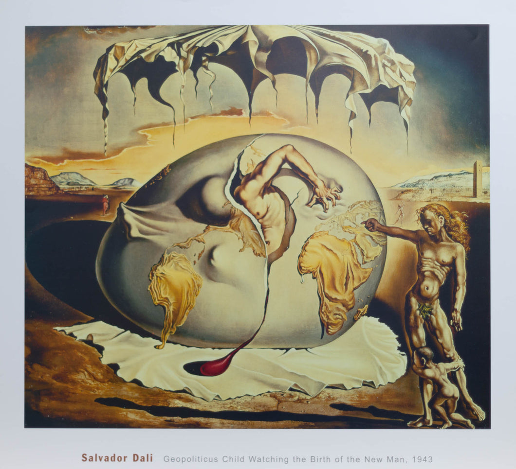 Dali, Salvador ''Geopoliticus Child Watching the birth of the new man