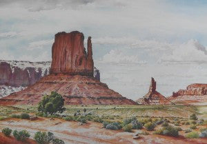 "Davis, G. ""Monument Valley B"" 22x32 Poster"
