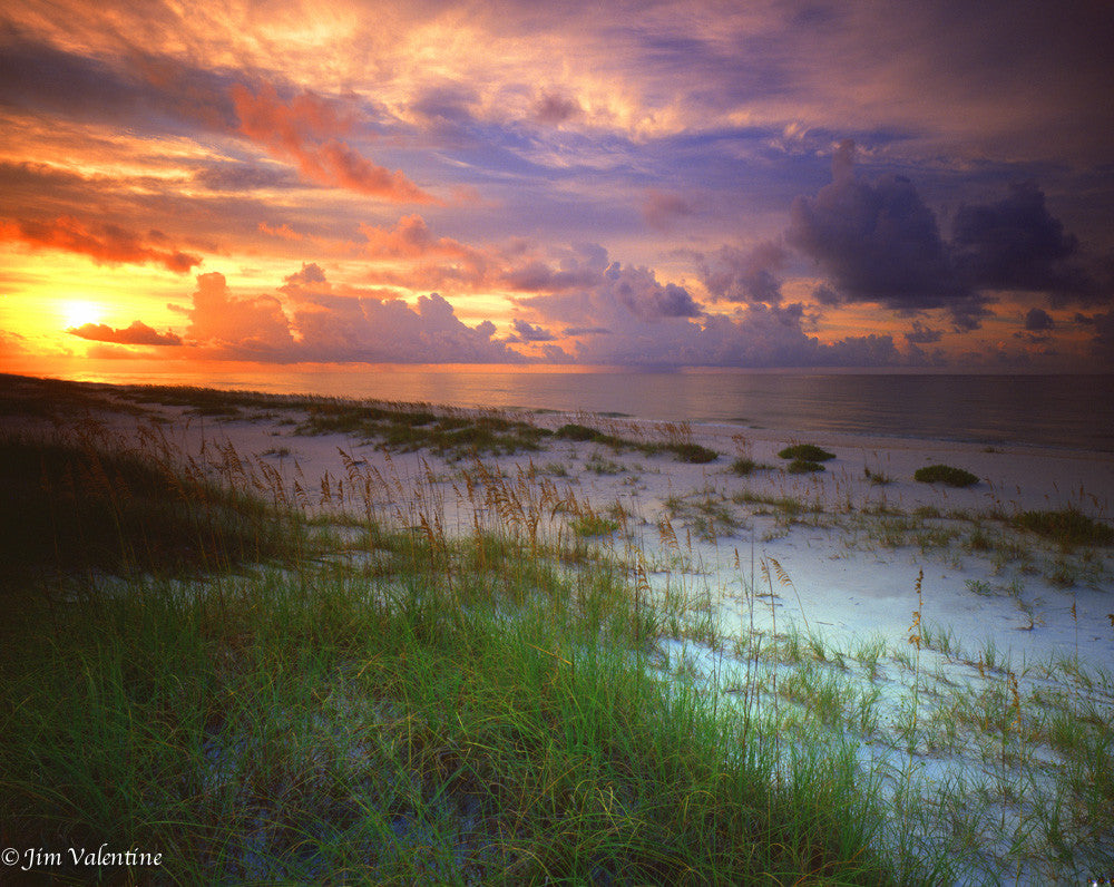 florida keys key west perido sunset pink purple peach colorful james valentine photography