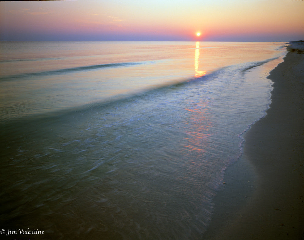 santa rosa beach beautiful sunset peach ocean photography florida state parks james valentine